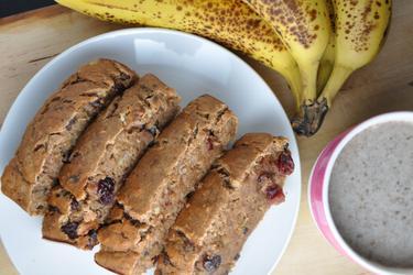 Chec cu banane sănătos (fără zahăr, fără grăsimi)