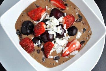 Îngheţată sănătoasă de cacao (fără gluten, fără zahăr)