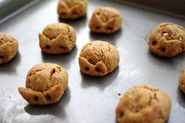 Prăjiturele cu arahide din 3 ingrediente (fără gluten)