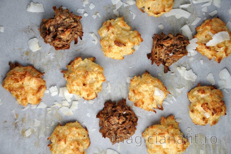 Macarons sănătoși cu cocos
