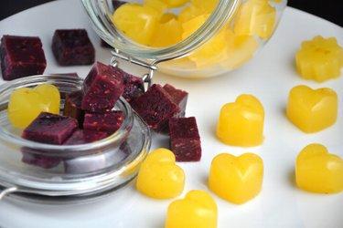 Bomboane-jeleu sănătoase preparate în casă