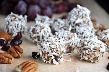Biluţe sănătoase cu turtă dulce (fără gluten, fără zahăr)