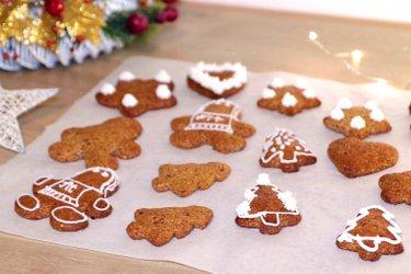 Prăjiturele proteice tip turtă dulce fără făină