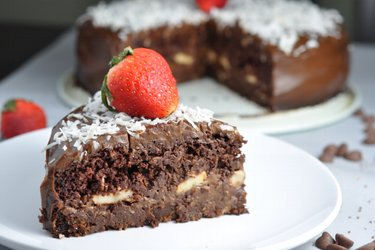 """Prăjitură cu ciocolată fitness """"Chocaholic"""""""