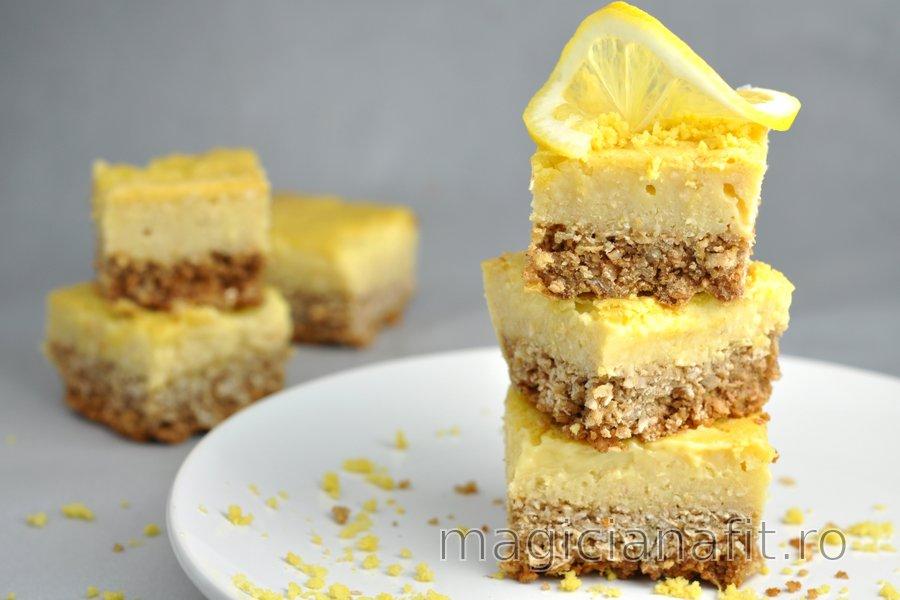 Desert cu lămâie dulce-acrișor fără făină