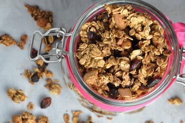 Granola crocantă la cuptor (fără ulei şi fără sare)