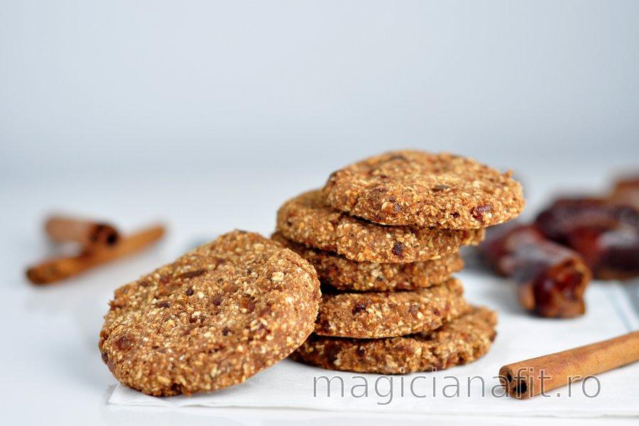 Prăjiturele cu scorțișoară și ovăz fără făină ușor de preparat