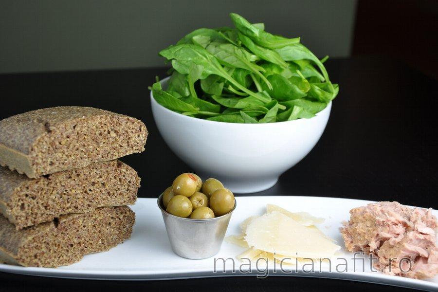 Pâine fără făină din seminţe de in