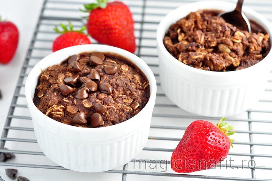 """Porridge-""""negresă"""" la cuptor"""