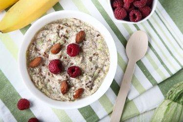 Porridge de zucchini