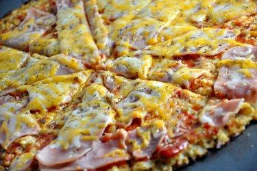 Pizza sănătoasă cu conopidă