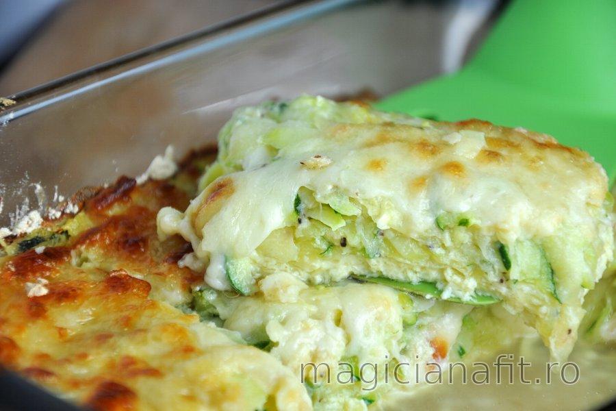 Plăcinta delicioasă cu zucchini