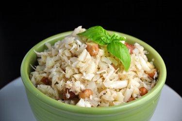 """""""Risotto"""" fără orez cu cocos şi conopidă"""