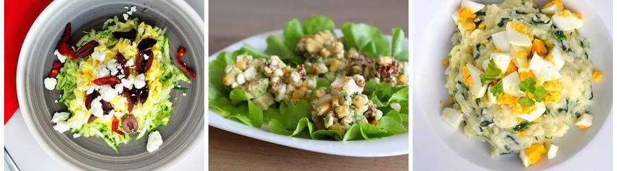 Rețete de salate sănătoase cu ou