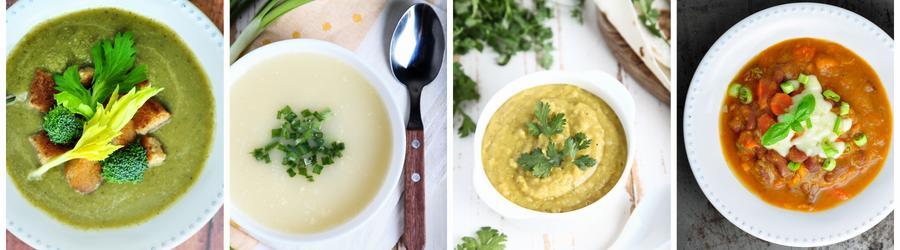 Rețete de supe bogate în proteine