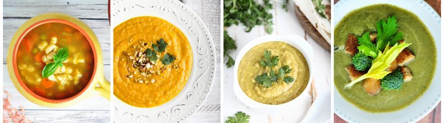 Rețete de supe cu puține calorii pentru cura de slăbire