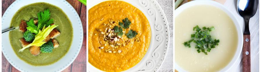 Rețete de supe cu puține grăsimi