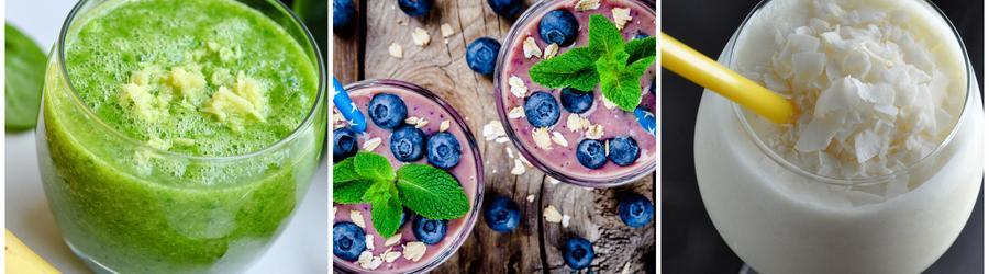 Smoothie-uri și băuturi fără produse lactate