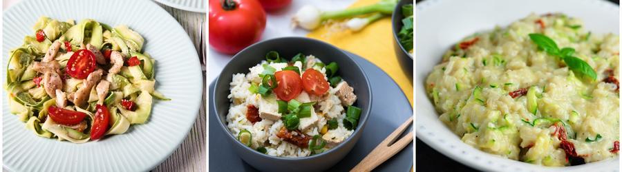Rețete cu zucchini bogate în proteine