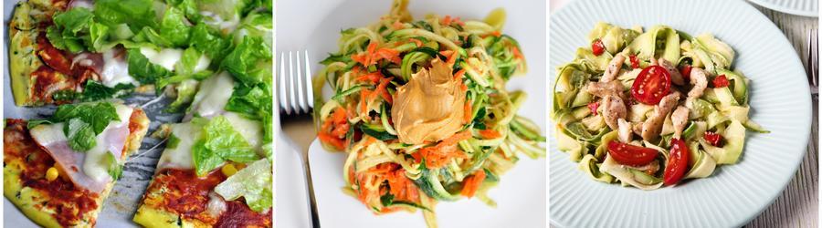 Rețete low carb cu zucchini
