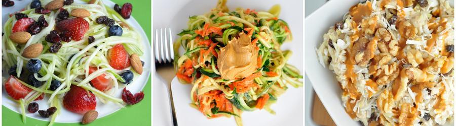 Rețete vegane sănătoase cu zucchini