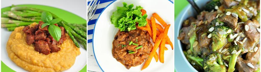 Rețete cu carne de vită bogate în proteine