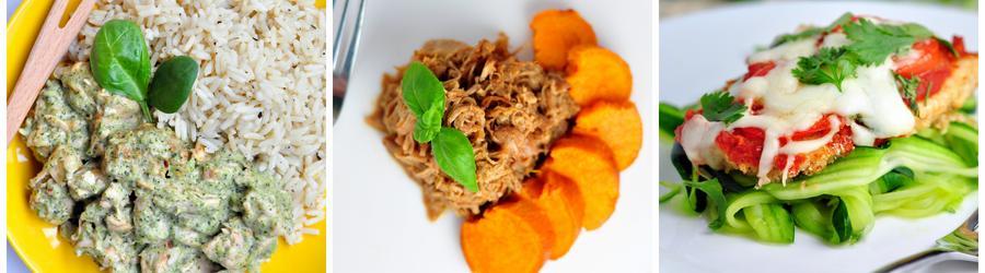 Rețete cu carne de pui fără gluten