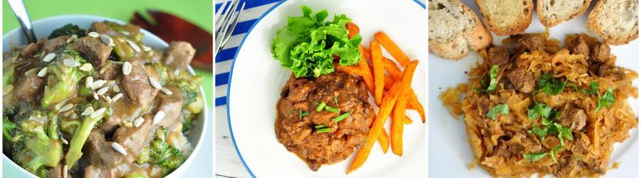 Rețete cu carne de vită cu puține calorii pentru slăbit