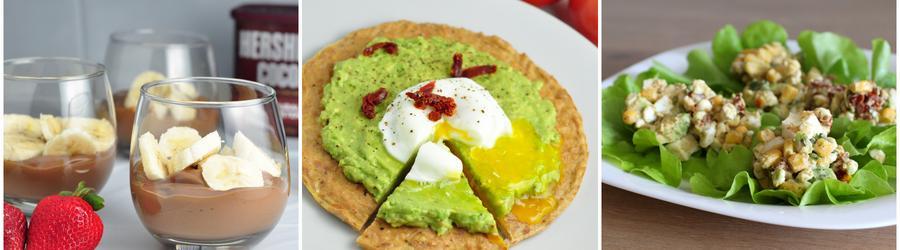 Rețete cu avocado bogate în proteine