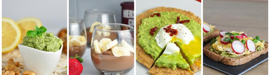 Rețete cu avocado cu puține calorii pentru cura de slăbire