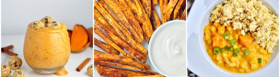 Rețete vegane sănătoase cu cartofi dulci