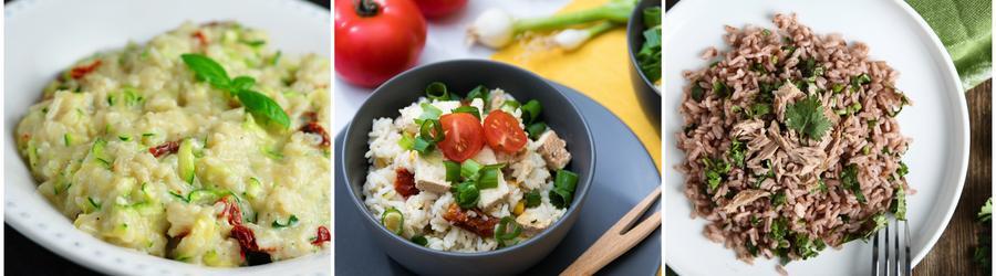 Rețete cu orez bogate în proteine