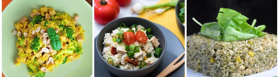 Rețete vegane sănătoase cu orez