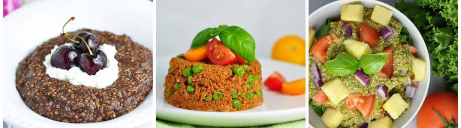 Rețete cu quinoa sănătoase fără gluten