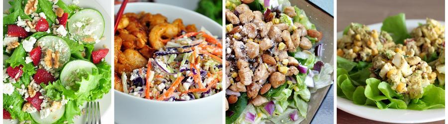 Rețete de salate sănătoase