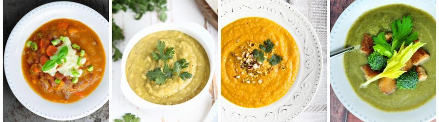 Rețete de supe sănătoase