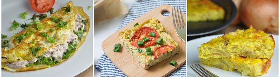 Rețete cu ou cu puține calorii pentru slăbit