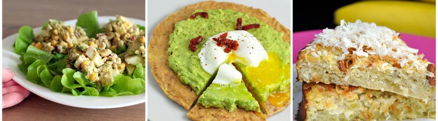 Rețete cu ou sănătoase și fără gluten