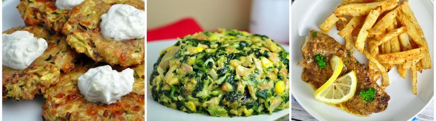 Rețete low carb cu legume