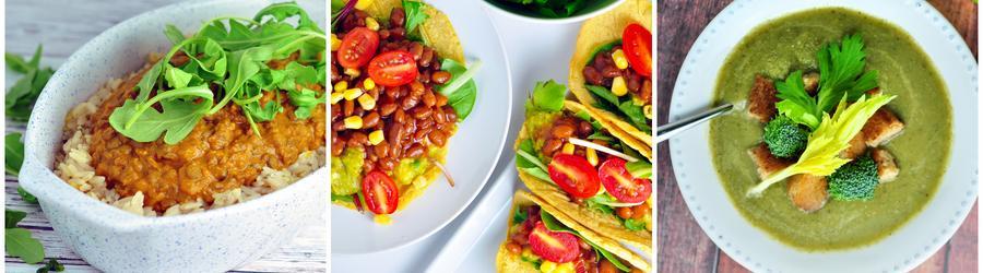 Rețete vegane sănătoase cu legume
