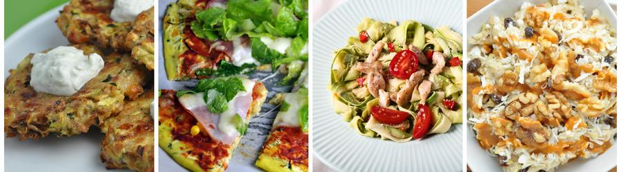 Rețete sănătoase cu zucchini