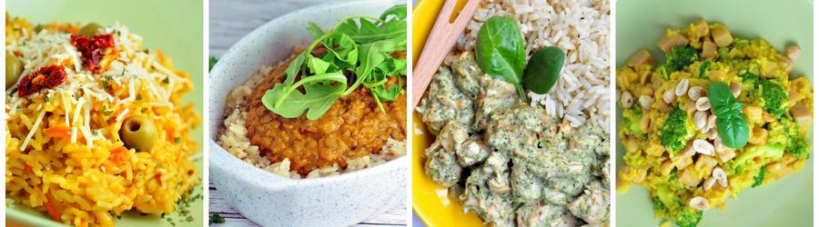 Rețete sănătoase cu  orez