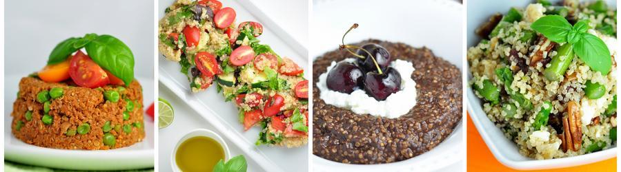 Rețete sănătoase cu quinoa