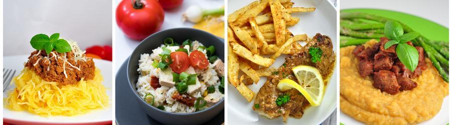 Rețete fără gluten pentru prânz și cină