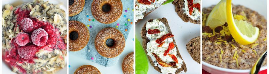 Rețete vegane sănătoase pentru micul dejun