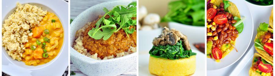 Rețete vegane sănătoase pentru prânz și cină