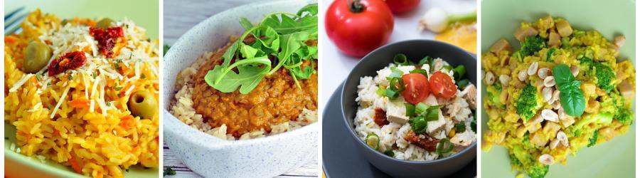 Rețete sănătoase cu orez pentru prânz și cină