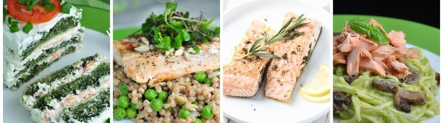 Rețete sănătoase cu somon pentru prânz și cină