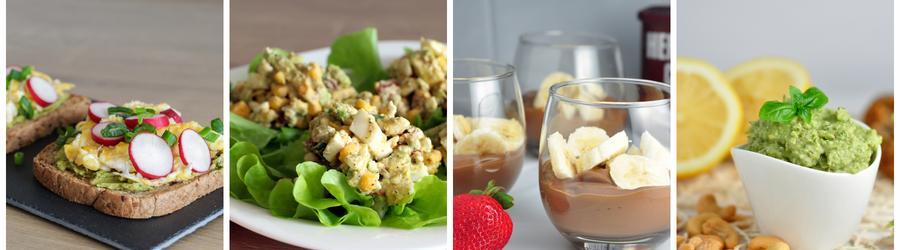 Rețete sănătoase cu avocado pentru micul dejun