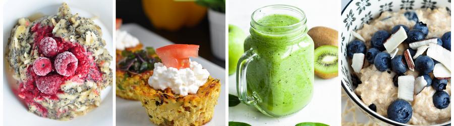 Rețete dietetice pentru micul dejun pentru cura de slăbire
